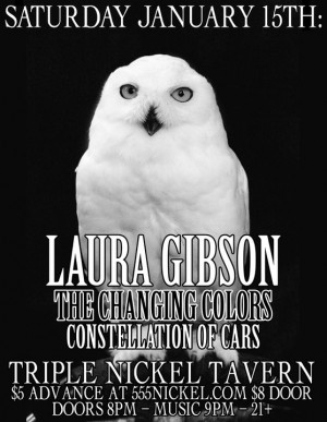 Laura Gibson Poster