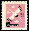 Big Something Postage Stamp