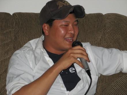 teddy e karaoke