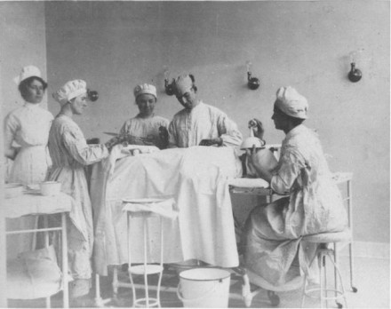 """Surgery Room,"" ca. 1915. Courtesy of Special Collections, Pikes Peak Library District. Image Number: 001-710."