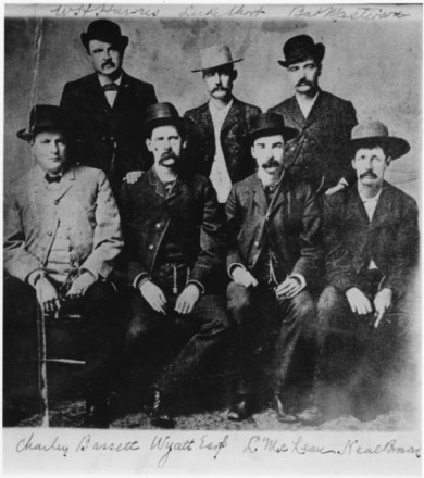 """Wyatt Earp,"" date and photographer unknown. Courtesy of Special Collections, Pikes Peak Library District. Image Number: 210-8756."
