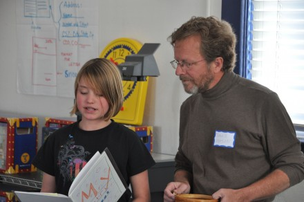 Ivy reading with Colorado Poet Laureate Dave Mason
