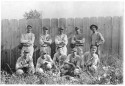 """Elizabeth, Colorado Baseball Team,"" ca. 1918, photographer unknown. Courtesy of Special Collections, Pikes Peak Library District. Image Number: 001-2390."