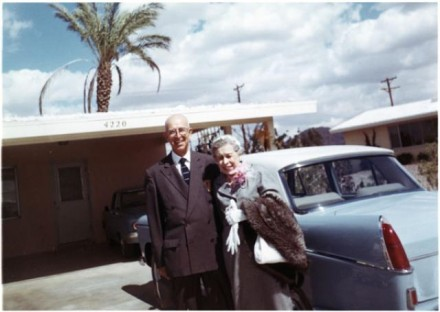 """Merton & Ruth Bogart,"" photographer unknown, March 1961. Courtesy of Special Collections, Pikes Peak Library District. Image Number: 001-8600."