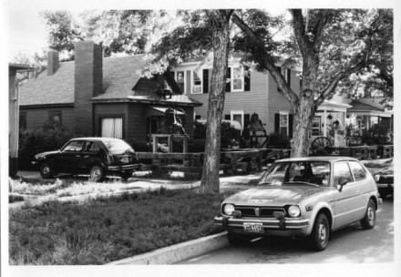 """Uintah Street"" by Mryon Wood, July 1978. Copyright Pikes Peak Library District, courtesy of Special Collections. Image Number: 002-1727."