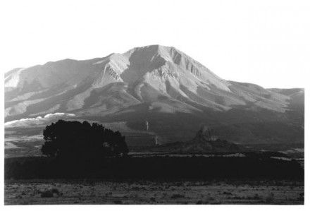 """W. Spanish Peak at La Veta, Colorado"" by Myron Wood, September 1978. Copyright Pikes Peak Library District, courtesy of Special Collections. Image Number: 002-1193."