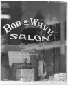"""Bob & Wave Salon, Victor"" by Myron Wood, March, 1972. Copyright Pikes Peak Library District, courtesy of Special Collections. Image Number: 002-2678."