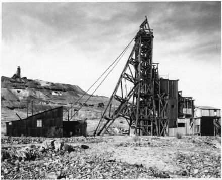 """Independence Mine"" by Stewarts Commercial Photographers, ca. 1965. Copyright Pikes Peak Library District, courtesy of Special Collections. Image Number: 013-1098."