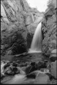 """Rainbow Falls (A Very Wonderful Sound"" by Timothy Carpenter, August 2000. Courtesy of Special Collections, Pikes Peak Library District. Image Number: 201-940."