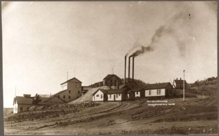 """The Celebrated Independence Mine,"" photographer unknown, between 1894 & 1900. Courtesy of Special Collections, Pikes Peak Library District. Image Number: 001-10273."