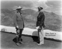 """Spencer Penrose & Col. Roscoe Turner"", June 1936, photographer unknown. Courtesy of Special Collections, Pikes Peak Library District. Image Number: 001-4901."
