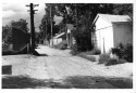 """Westside Alley"" by Myron Wood, August 1981. Copyright Pikes Peak Library Distirct. Image Number: 002-819."