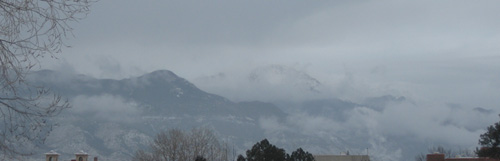 Pikes Peak, 01/29/13 around 9:15am