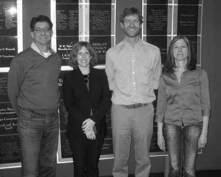 L-R: Matt Lepore, Bente Birkeland, Pete Maysmith, Kathleen Sgamma