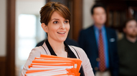 Tina Fey stars as Princeton University admissions counselor Portia Nathan in the new comedy Admission. Fey says the movie's frankly manic depiction of the college application melee appealed to her.