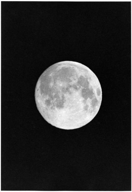 [Full Moon] by Myron Wood, March 1968. Copyright Pikes Peak Library District. Image #: 002-5853.