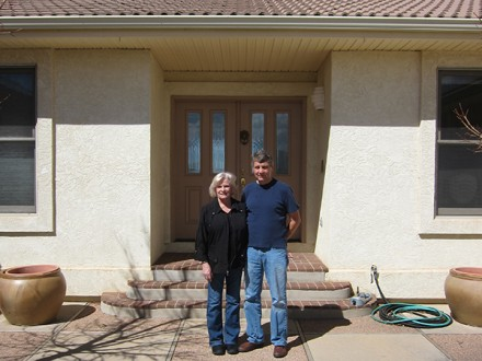 Richard and Francine Hansen Photo: Michelle Mercer