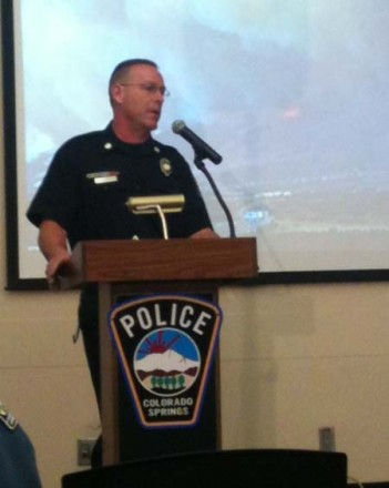 CSFD Captain Steve Riker recounts his experiences during the Waldo Canyon Fire.